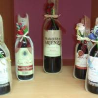 Mini-Botellas de vino