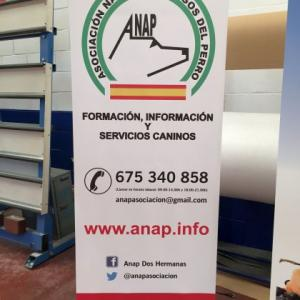 Roll up de 85x200 mts Anap. Dos Hermanas Sevilla